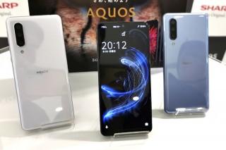 Sharp Aquos Zero 5G Basic и Sharp Aquos Sense 5G